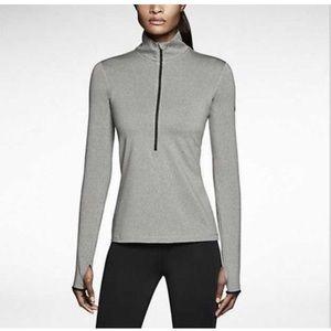 Nike Women's Dri-Fit Pro Hyperwarm Half Zip